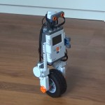 A Unicycle Robot from LEGO MINDSTORMS NXT