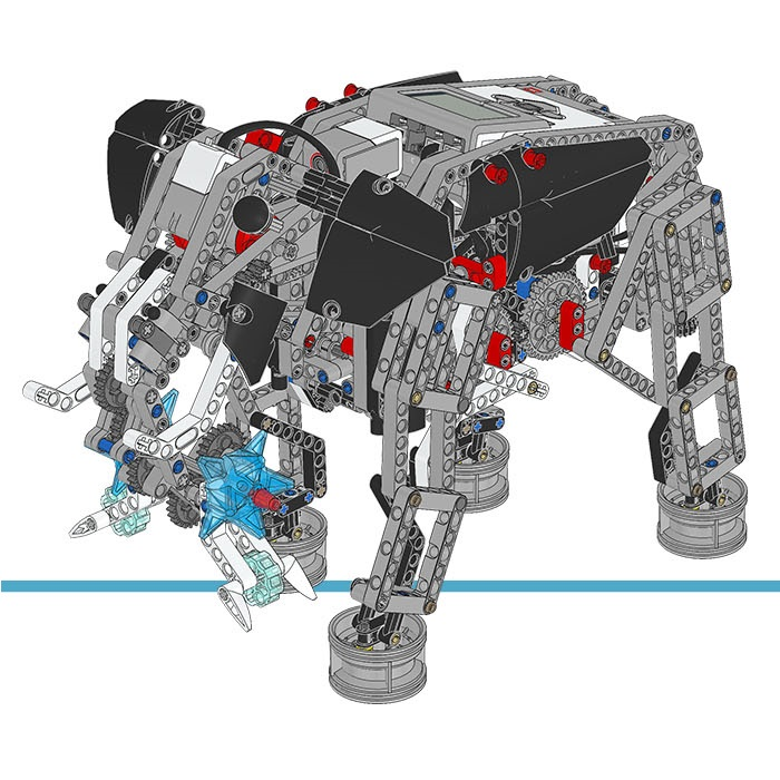 LEGO MINDSTORMS EV3 Education Expansion Set 45560 Instructions ...