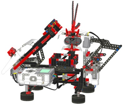 Solve A Rubiks Cube With Just One Ev3 Set Robotsquare