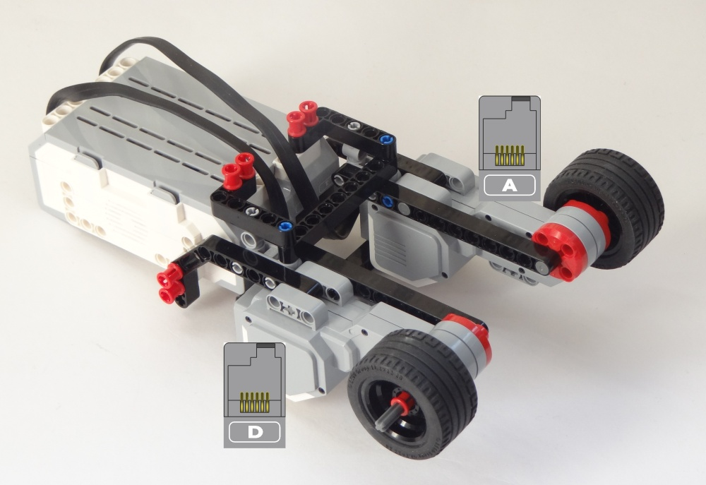 lego mindstorms ev3 race car instructions