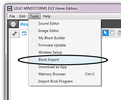 Tutorial: Installing Gyro and Ultrasonic Sensor blocks in EV3 Home ...