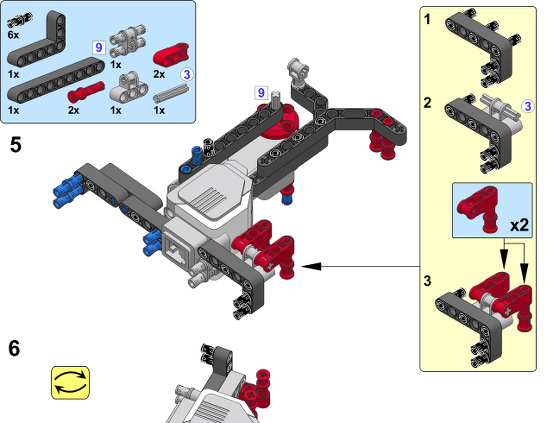Lego mindstorm building instructions