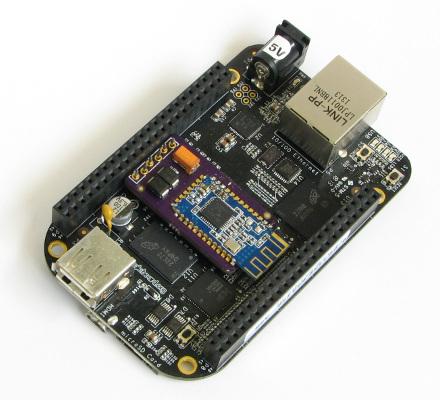 Wireless Bluetooth console for BeagleBone Black